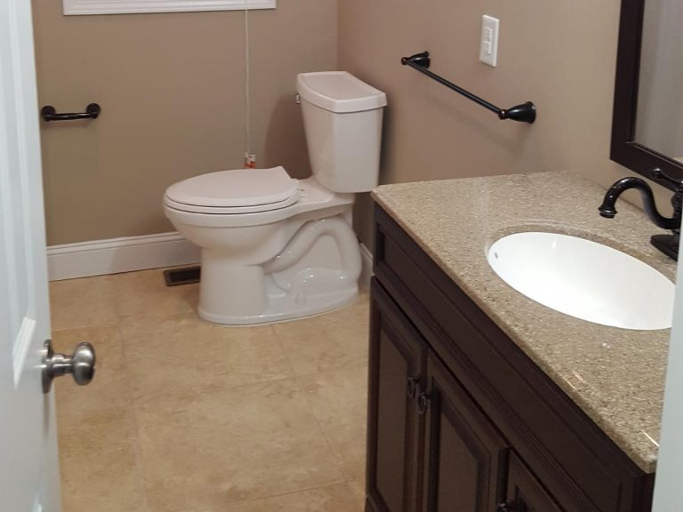 A PWD friendly bathroom after reconstruction