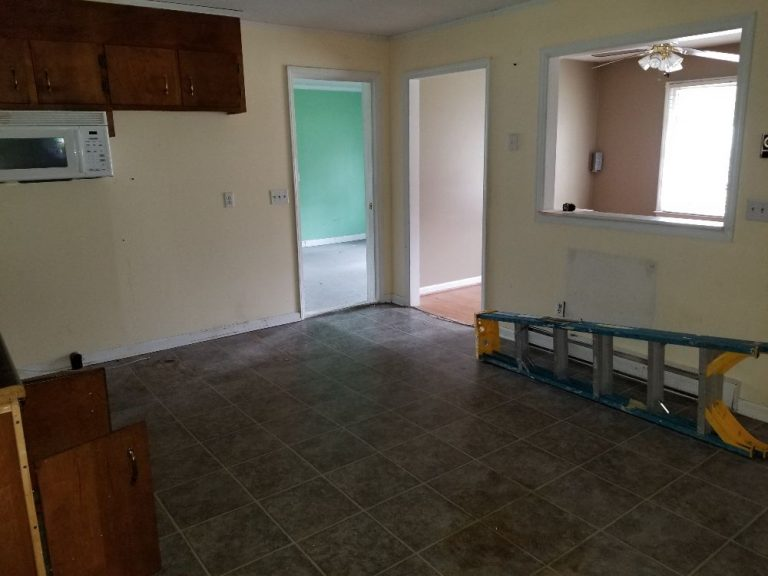 Old kitchen room in line for renovation