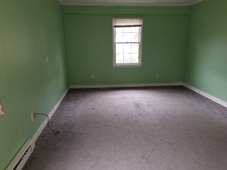 Old bedroom in line for renovation