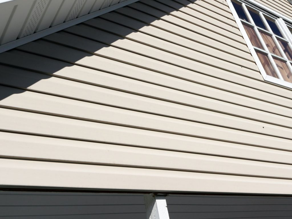 Newly home renovated roofing and siding
