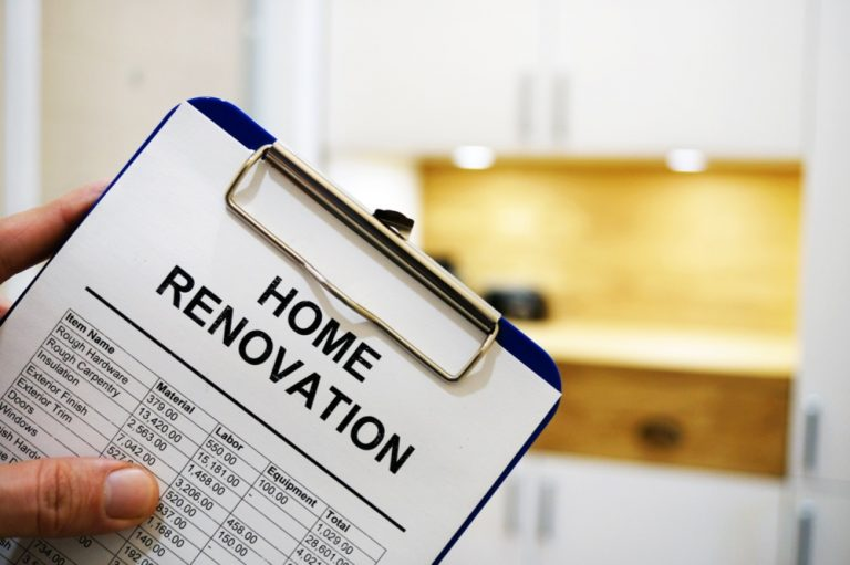 A suggestion paper for home remodeling